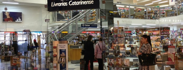 Livrarias Catarinense is one of Beiramar Shopping.
