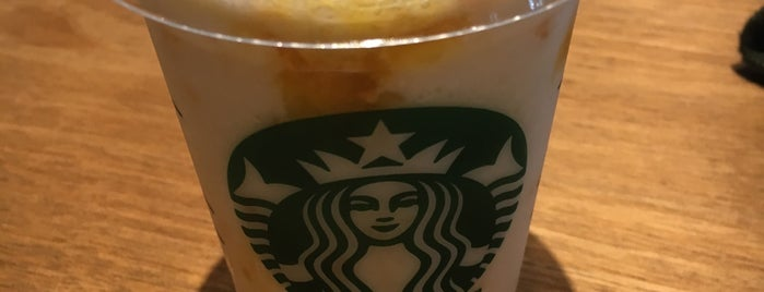 Starbucks Coffee is one of 電源 コンセント スポット.