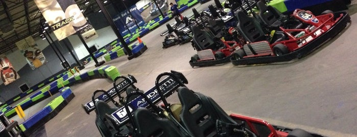 Andretti Indoor Karting & Games Roswell is one of OTP North Atlanta Love.