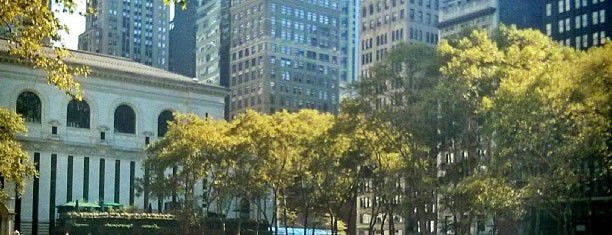 Bryant Park is one of Must go in NY.