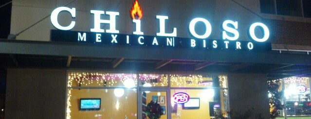 Chiloso Mexican Bistro is one of DFW -More Great Food.