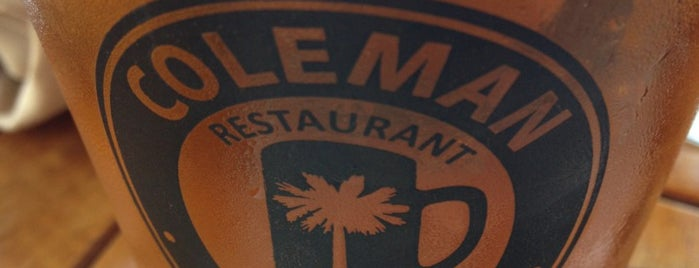 Coleman Public House Restaurant & Tap Room is one of Charleston Beer.