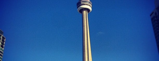 CN Tower is one of Toronto, Ontario, Canada.
