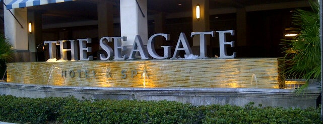 The Seagate Hotel & Spa is one of Ft Lauderdale to Stuart FL.
