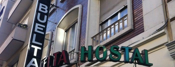Hostal Buelta is one of Spain Trip 2014.