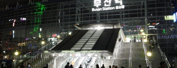 Busan Stn. - KTX/Korail is one of 세번째, part.1.
