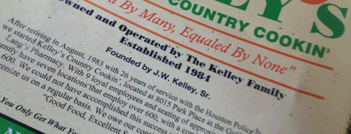 Kelly S Country Kitchen Pearland