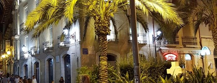 Plaza Santísima Faz is one of Alicante (plazas y jardines).