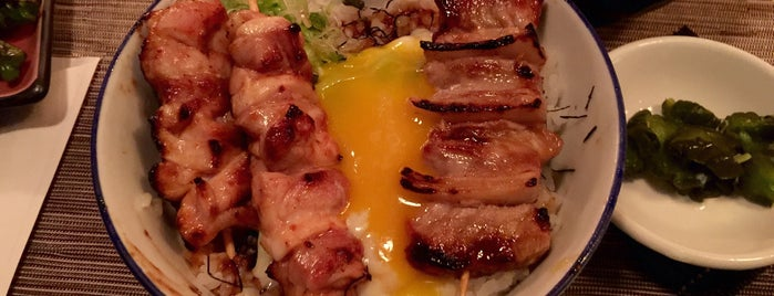 Yakitori Totto is one of Manhattan To-Do's (Above 34th Street).