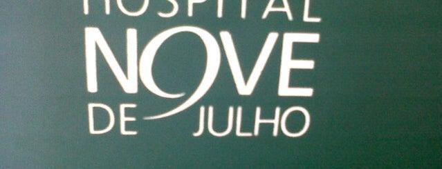 Hospital Nove de Julho is one of Saúde - Estabelecimentos.