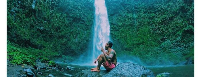 Nungnung Waterfall is one of Air Terjun BALI.