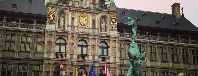 Stadhuis is one of Belgium / World Heritage Sites.