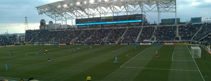 Talen Energy Stadium is one of Meus lugares.