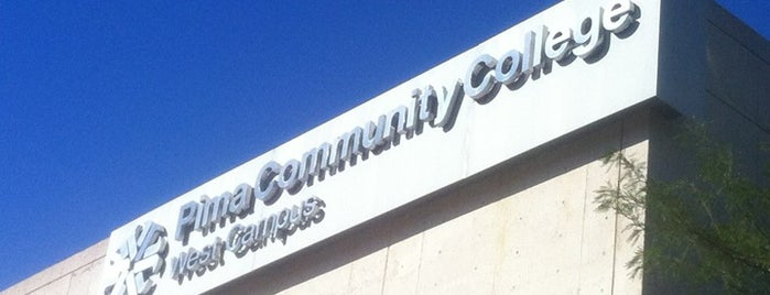 Pima Community College West Campus is one of places.