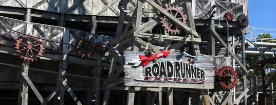 Road Runner Express is one of ROLLER COASTERS.