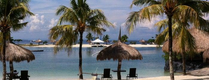 Bluewater Maribago Beach Resort is one of shhh.
