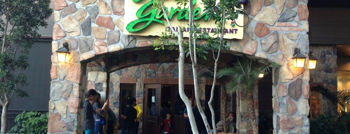 Olive Garden is one of Restaurantes para Quedar Bien.