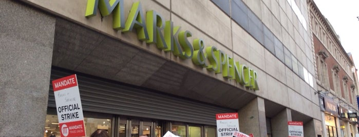 Marks & Spencer is one of All-time favorites in Ireland.