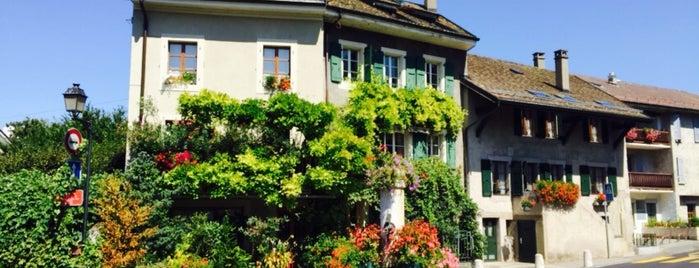Hermance Ville et Plage is one of Top Places Geneva.