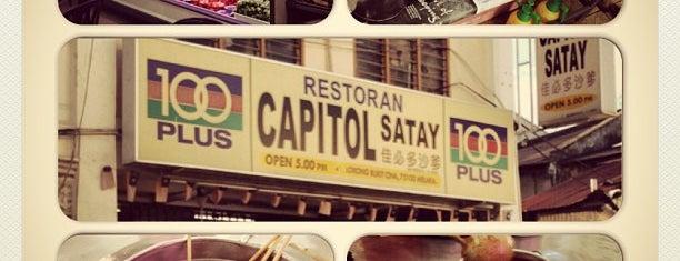 Restoran Capitol Satay Celup is one of Eat❷.