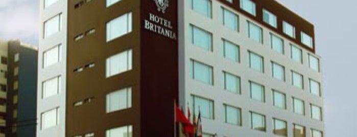Hotel Britania is one of Always Gourmet PERU, comer em Lima.