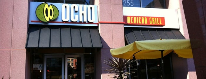 Ocho Mexican Grill is one of The 15 Best Places for Chicken Burritos in Los Angeles.