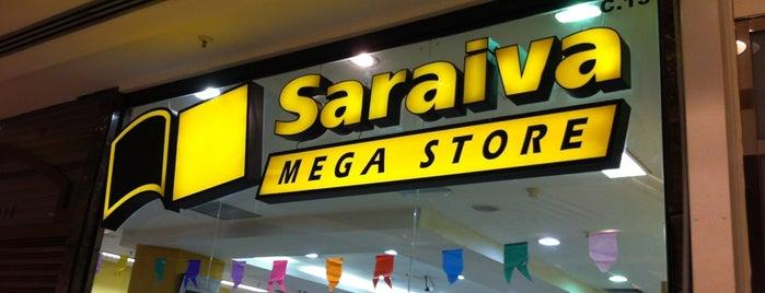 Saraiva MegaStore is one of chillaxing.