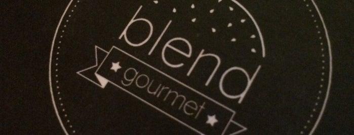 Blend Gourmet is one of Restaurantes.
