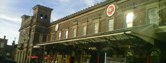 Chester Railway Station (CTR) is one of Railway stations visited.