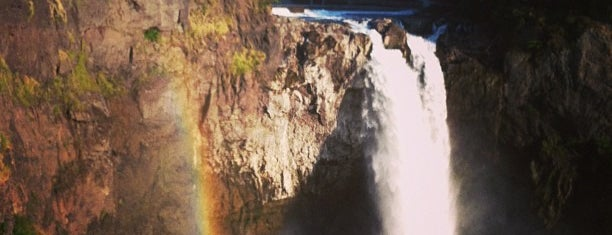 Snoqualmie Falls is one of Let's Get Lost.