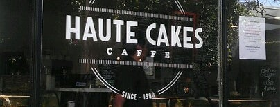 Haute Cakes Caffe is one of Food!.