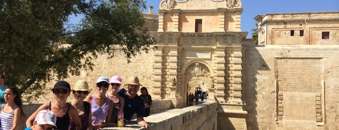 Mdina Gate is one of Malta.