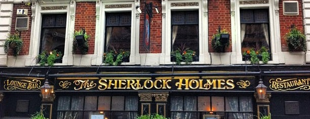 The Sherlock Holmes is one of London Pint.