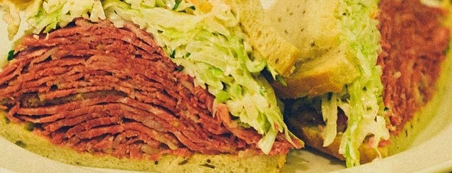 Nate 'n Al Delicatessen is one of America's Best Jewish Delis.