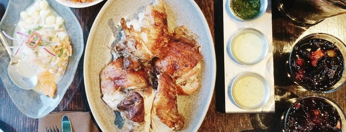 Limón Peruvian Rotisserie is one of The Best Bets for Group Dining in SF.
