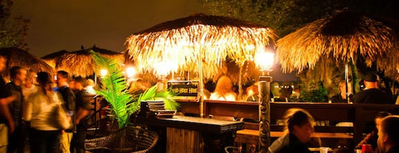 Psycho Suzi's Motor Lounge & Tiki Garden is one of The Greatest Outdoor Bars in America.