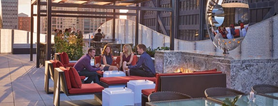 The Ritz-Carlton Chicago is one of The Greatest Outdoor Bars in America.