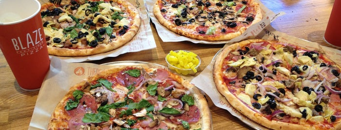 Blaze Pizza is one of LA Eateries.