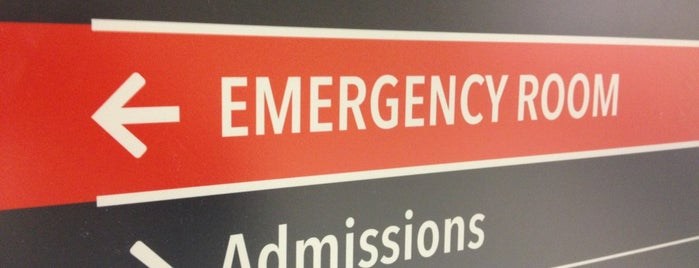 Washington Hospital Center Emergency Room is one of hospitals.