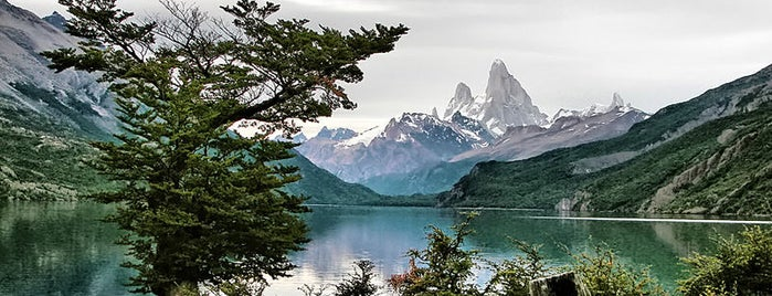 Lago del Desierto is one of Patagonia (AR).