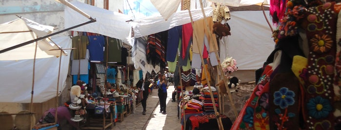 Pisac Market is one of Perú.