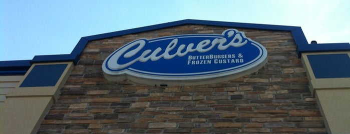 Culver's is one of Mel's Faves :).