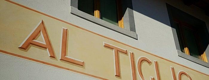 Al Tiglio - Cucina naturale Ristorante Veg is one of Friuli Venezia Giulia.
