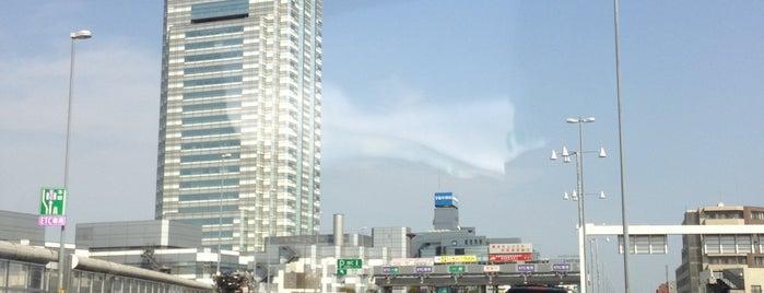 用賀出入口 is one of 高速道路.