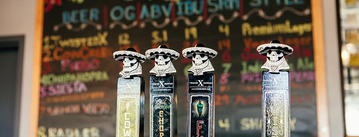 Twisted X Brewing Company is one of Texas breweries.