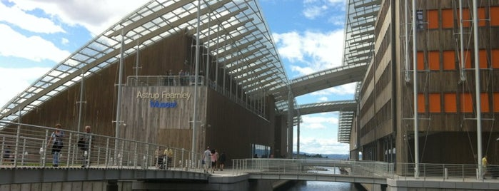 Astrup Fearnley Museet is one of Oslo.