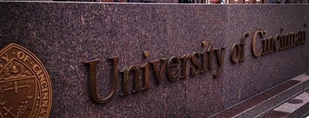 University of Cincinnati is one of Colleges I've Visited.