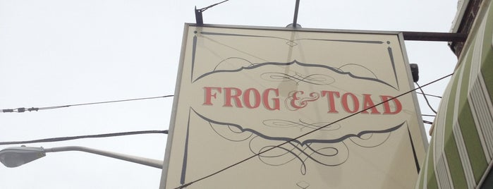 Frog & Toad is one of Favorites-Providence.