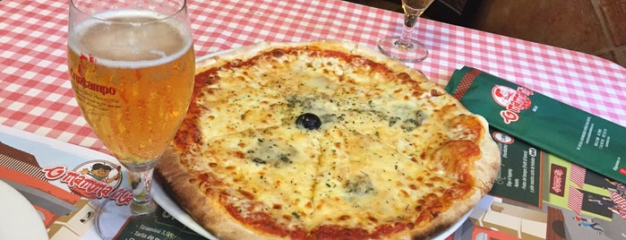 Pizzeria O'mamma Mia is one of Restaurantes que admiten cheques Gourmet.