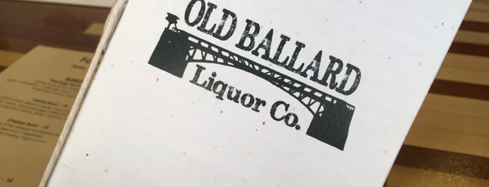 Old Ballard Liquor Co. is one of Seattle.